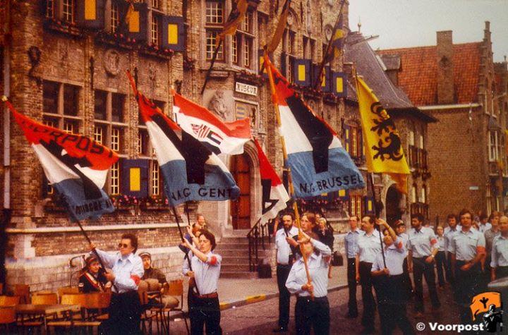 01-07-1979 intocht van Voorpost te Diksmuide
