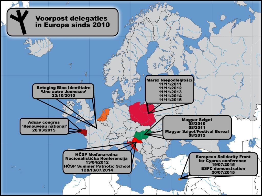 Voorpost European delegations since 2010volledig